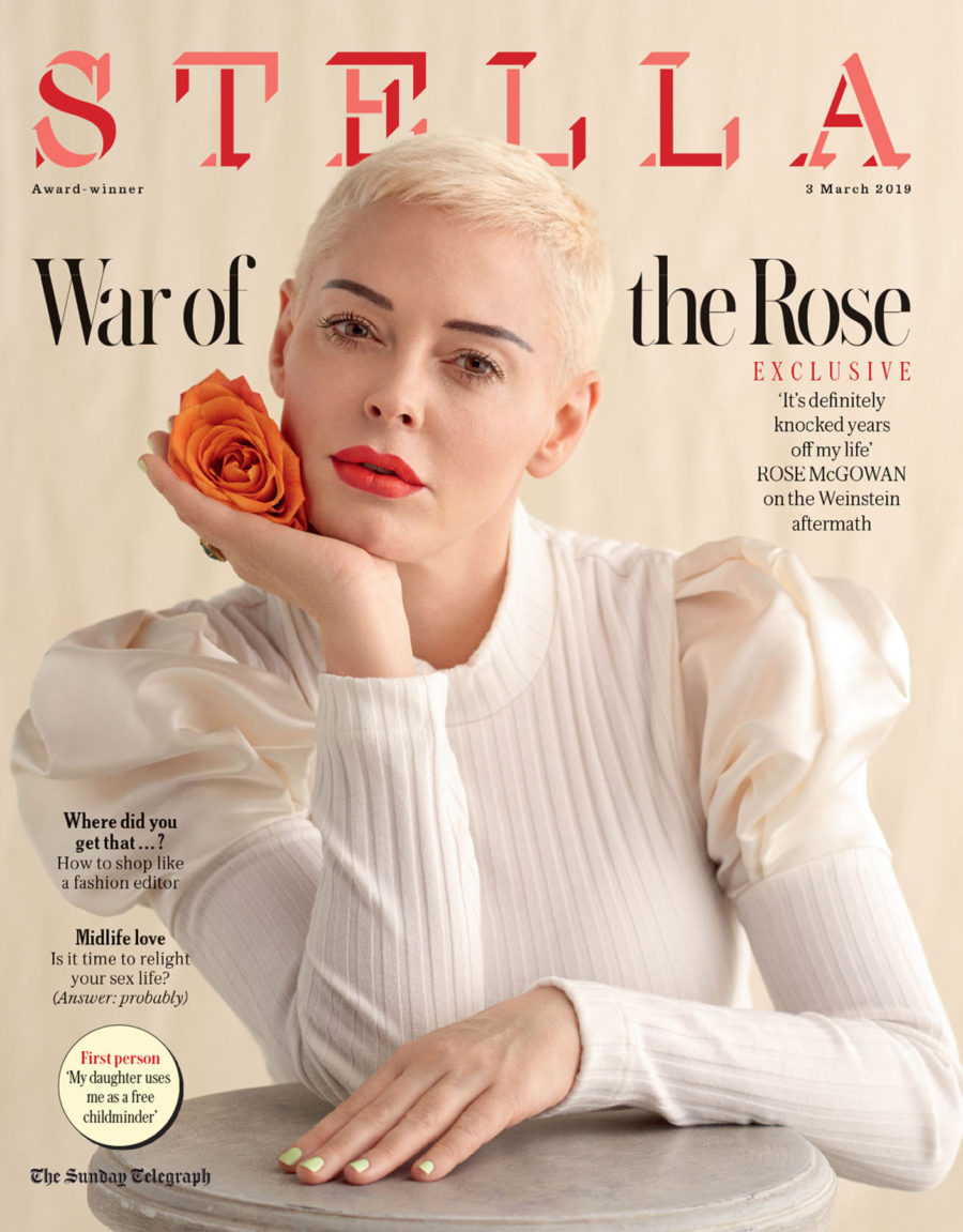 Rose McGowan for Stella Magazine