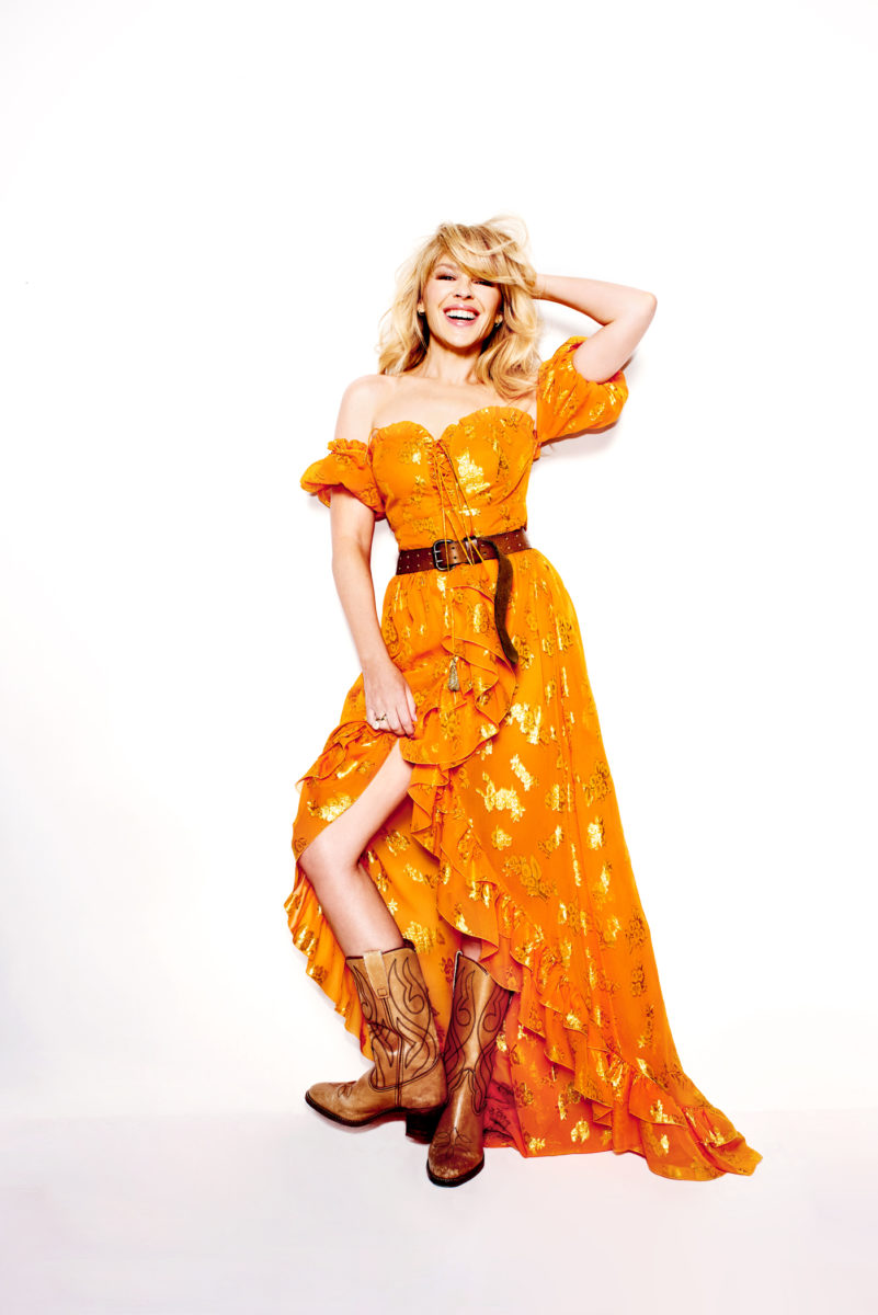 Kylie Minogue for Sunday Times Magazine