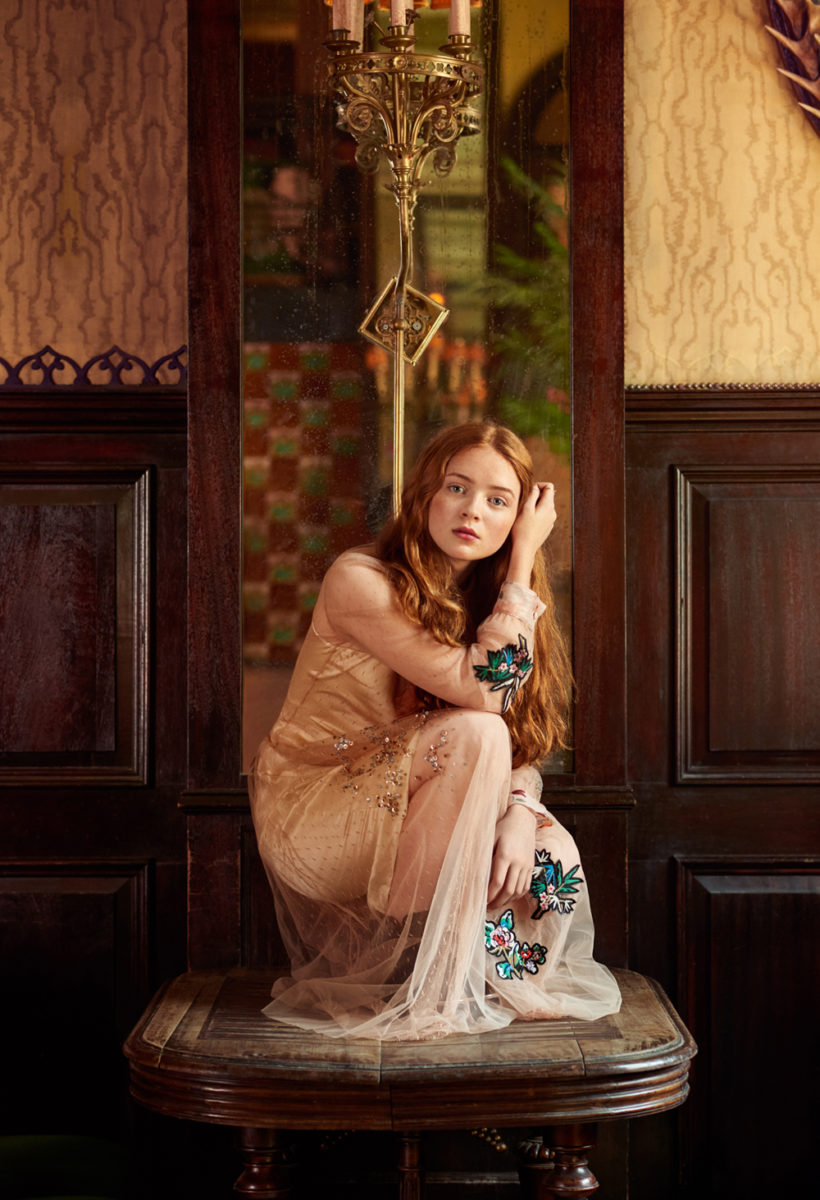 Sadie Sink by Rebecca Miller for Empire Magazine