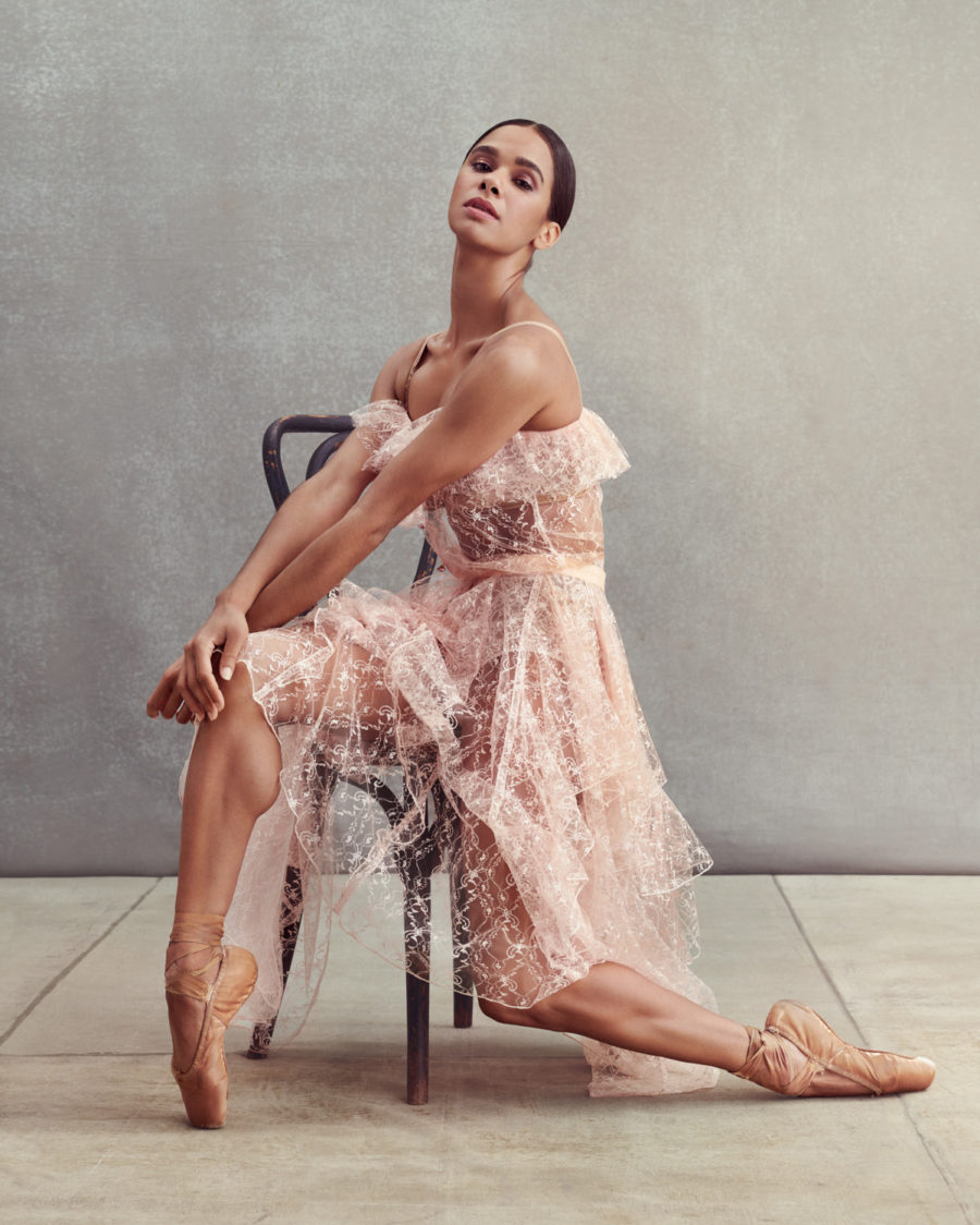 Misty Copeland by Rebecca Miller for Disney