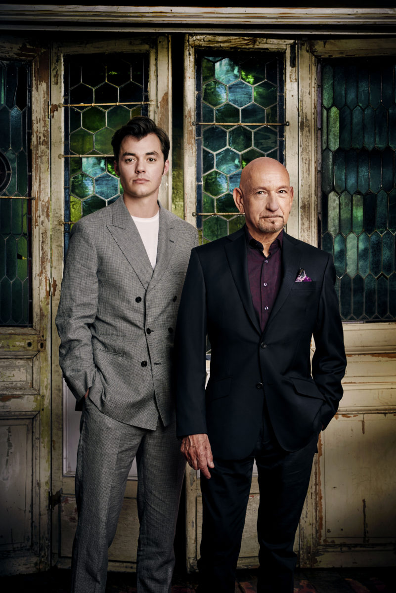 EMMY MAGAZINE - Jack Bannon and Sir Ben Kingsley